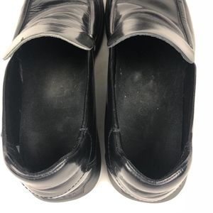 Gucci Shoes - Gucci Black Patent Leather Loafers Dress Shoes Men